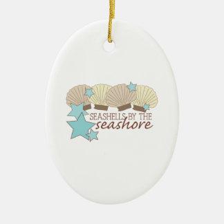 Seashells By The Seashore Christmas Ornaments