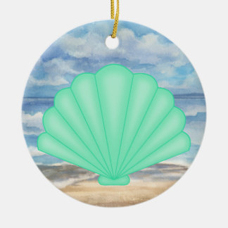 Seashells Ceramic Ornament