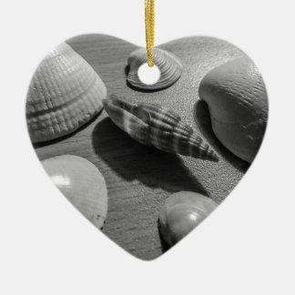 Seashells Ceramic Ornament
