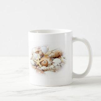 Seashells Classic White Coffee Mug