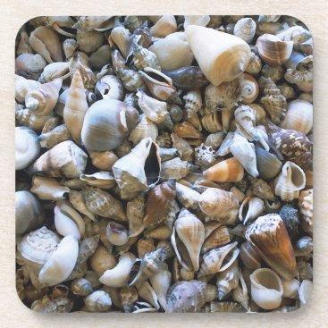 "Beach Themed ""Seashells"" Coaster Set"