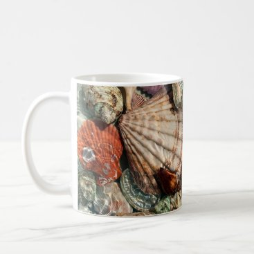 Beach Themed Seashells Coffee Mug