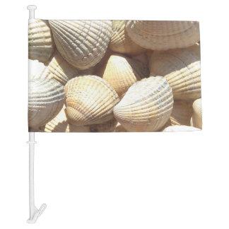Seashells Collection Summer Beach Sunny Car Flag