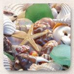 Seashells Cork Coaster