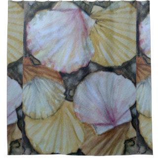 Seashells Cortina De Baño