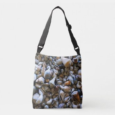 "Beach Themed ""Seashells"" Cross Body Bag"