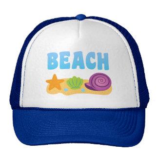 Seashells de la playa gorro
