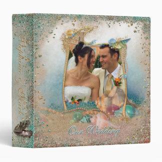 Seashells de la playa que casan el álbum SU foto Carpeta 3,8 Cm