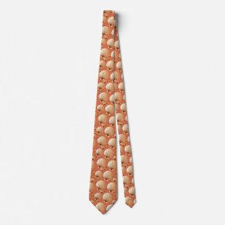 Seashells del chocolate y del moreno en marrón del corbata