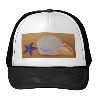 Seashells Design Trucker Hat