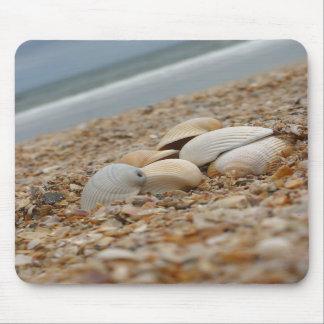 Seashells en el descuento de cantidad del mousepad tapete de raton