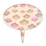 Seashells en la arena figura de tarta