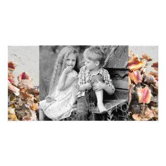 Seashells en los turcos de la playa el | y la foto tarjetas fotográficas personalizadas