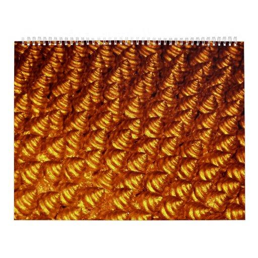 Seashells (Gold) Calendar