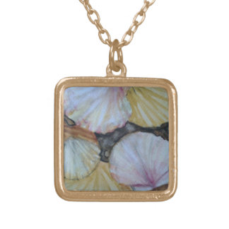 Seashells Gold Plated Necklace