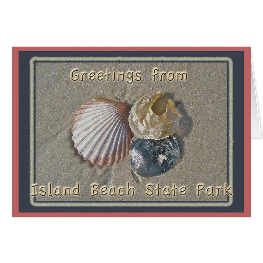 Seashells Greetings From IBSP Seaside Park NJ Card