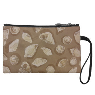 Seashells In Sand Wristlet Wallet