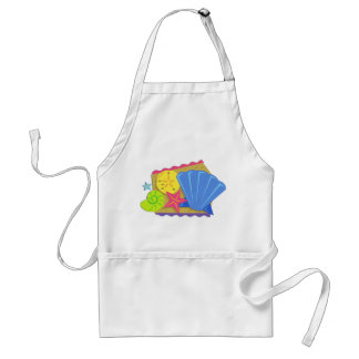 Seashells in the Sand Adult Apron