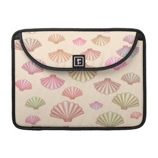 Seashells In The Sand Sleeve For MacBook Pro