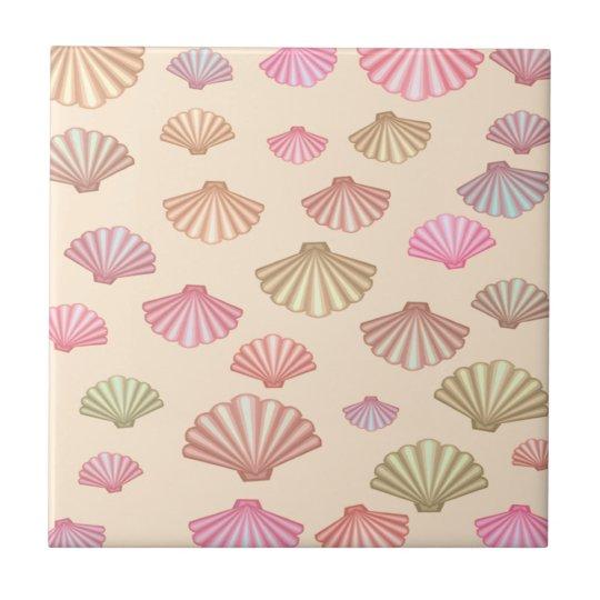 Seashells In The Sand Tile
