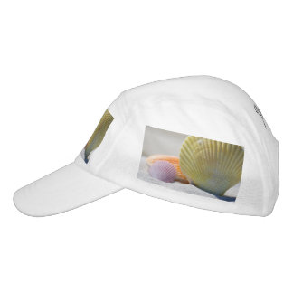 Seashells in White Sand Headsweats Hat