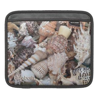 Seashells iPad Sleeves