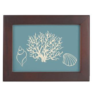 Seashells Keepsake Box