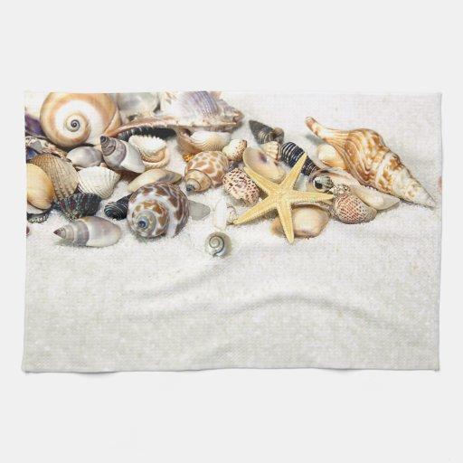 Seashells Kitchen Towel