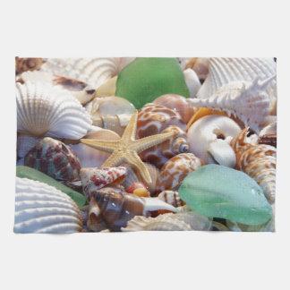 Seashells Kitchen Towels
