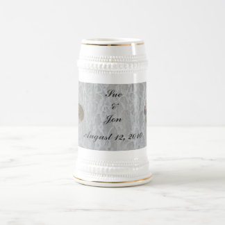 SeaShells & Lace Beer Stein