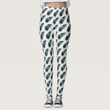 Beach Themed Seashells Leggings