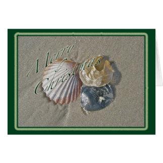 Seashells Merry Christmas Series Card