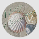 Seashells Merry Christmas Series Stickers