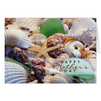 Seashells Mother's Day Card