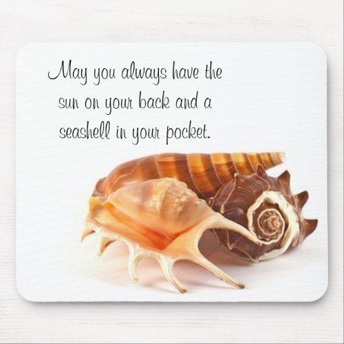 Seashells Mouse Pad mousepad