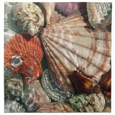 Beach Themed Seashells Napkin