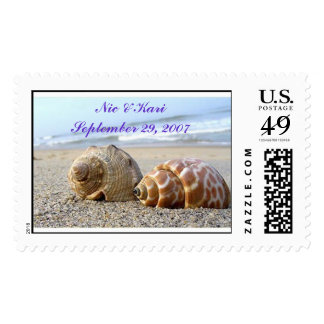 Seashells, Nic & Kari Stamp