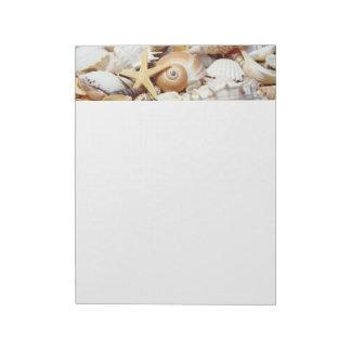 Seashells Notepad