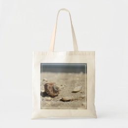 Seashells On Sand By The Sea Tote Bag