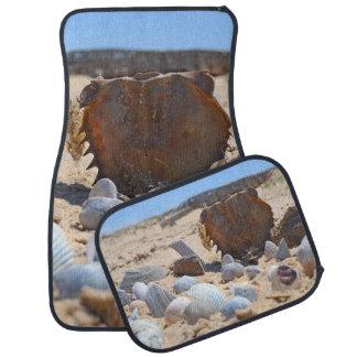 Seashells On The Beach by Shirley Taylor Car Mat