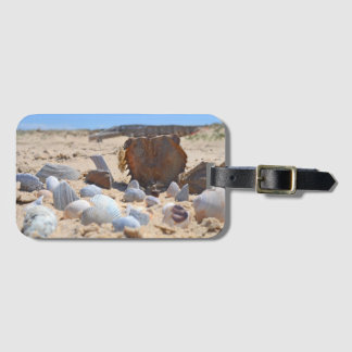 Seashells on the Beach by Shirley Taylor Luggage Tag