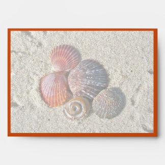 Seashells on the Beach Envelope