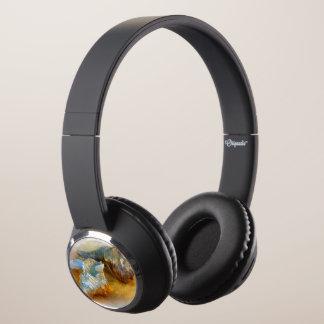 Seashells on the beach headphones