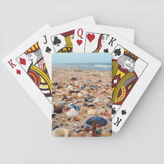 Seashells on the Beach Playing Cards