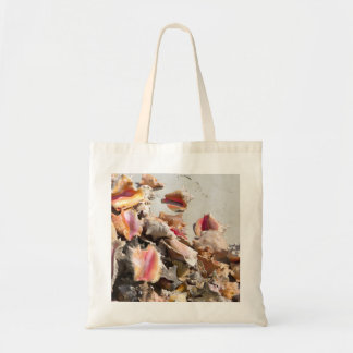 Seashells on the Beach | Turks and Caicos Photo Tote Bags