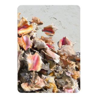 Seashells on the Beach | Turks and Caicos Photo Card