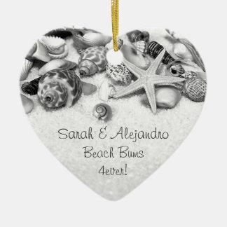 Seashells Ornament Pesonalized