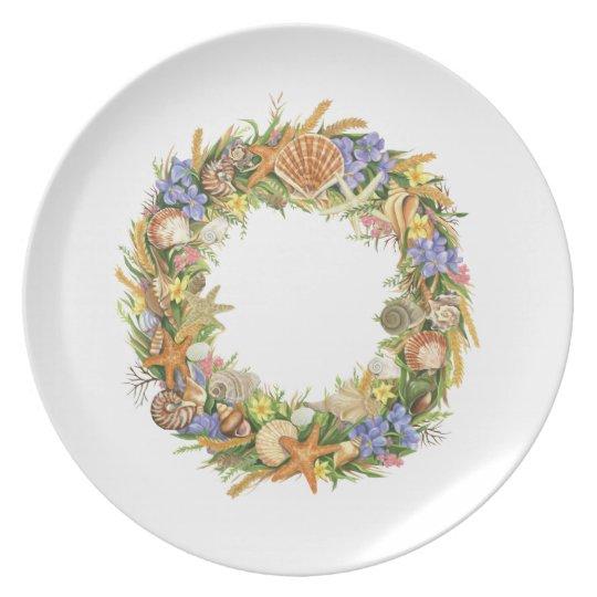 Seashells Ornament Plate