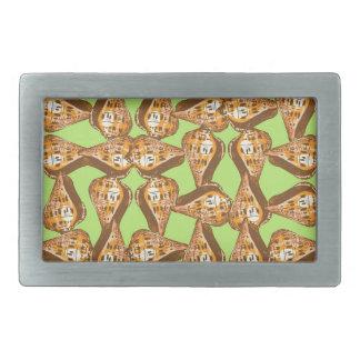 Seashells pattern belt buckle