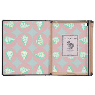 Seashells pattern covers for iPad